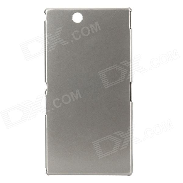 Protective PC Back Case for Sony XL39h Xperia Z Ultra - Champagne Grey смартфон sony xperia xa1 ultra dual