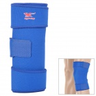 Rubber Nylon Pressurized Knee Support - Blue