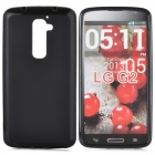 PUDINI Protective TPU Back Case for LG Optimus G2, LG D801, LG F320, F340L, LS980 - Black