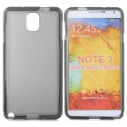 Protective TPU Soft Back Case for Samsung Galaxy Note 3 N9000 - Translucent Black