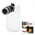 LrG-w 8X Telescope Lens w/ Back Case for Samsung Galaxy S4 Mini i9190
