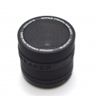 Portable Supper Bass Bluetooth V2.1+EDR Speaker w/ TF / FM / Microphone - Black