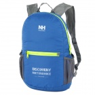 NatureHike-NH Folding Double-Shoulder Bag Backpack - Blue + Grey (15L)