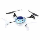 SYMA X1 2.4GHz 4-CH R/C UFO Quad Copter - Blue + Black + White