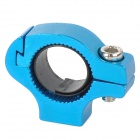 Bicycle Aluminum Alloy Handlebar Water Bottle Holder Convert Adapter - Blue