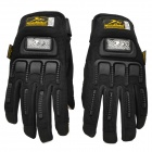 BaoLi Motorcycle Cyling Anti-slip Smart Screen Touch Glove - Black