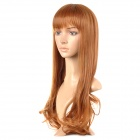 lc070-2730 Fashion Long Curly Hair Wig - Golden