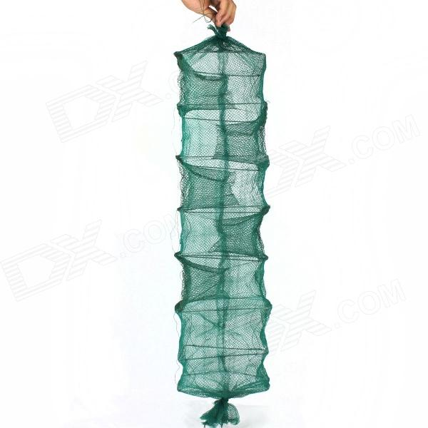Folding Eel Rrap Net Cage - Green