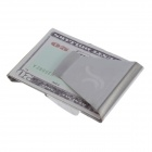 10050123W Stainless Steel Money Clip - Silver