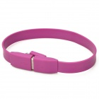 Bracelet Style Micro USB Male to USB Male Charging Cable for Samsung - Purple