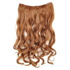 JW21 Decorative Long Curly Hair Slice Extension Wigs - Golden