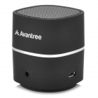 Avantree Fashion Portable Wireless Bluetooth V2.1 Speaker w/ Micro USB - Black