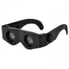 Convenient 4x Telescope Glasses for Fishing - Black