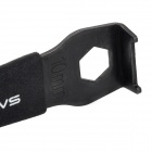 SAHOO 23829 Convenient Steel Alloy Chainring Nut Wrench for Bike - Black