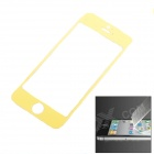 SMOOTH SMOOTH-01 Protective Toughened Glass Front Screen Cover Sticker for iPhone 5 - Yellow