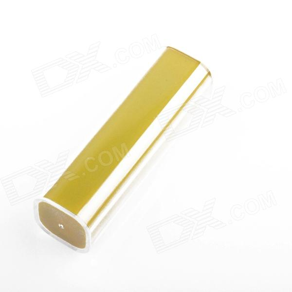 HT-2600 External 2600mAh Power Source Battery Charger w/ for Iphone 4 / 4S / 5 - Yellow + White