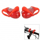 SY-BG Convenient Cute Tadpole Style Alarm Light for Bicycle - Red (2 x CR2016) (2 PCS)