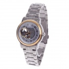Daybird 3779 Stainless Steel Automatic Men's Analog Wrist Watch - Silver + Golden + White