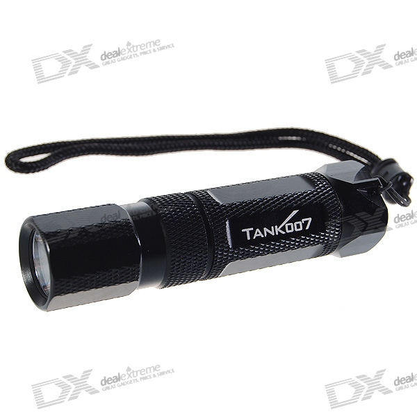 Tank007 M20 140-Lumen 5-Mode LED Flashlight w/ Cree Q2-WC / Magnetic Tail (1*AA/1*14500) tank007 tk 568 3 mode 130 lumen led flashlight w cree p4 wc 1 aa 1 14500