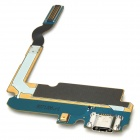 Replacement USB Dock Charging Port Flex Cable for Samsung i9200 - Blue + Golden