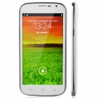 "A999m Android 4.2 Quad-Core WCDMA Bar Phone w / 5 "", GPS, FM, RAM 1GB, 4GB ROM - Weiß"