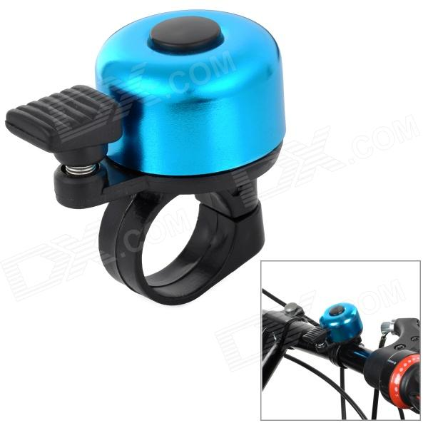 HH-88 Universal Mini Plastic + Aluminum alloy Bell Horn for Bike - Black + Blue high purity 99 96