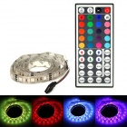 5050RGB 12W 200lm IP65 Waterproof 60 5050 SMD LED RGB Stripe w/ Remote Control - White (110cm)