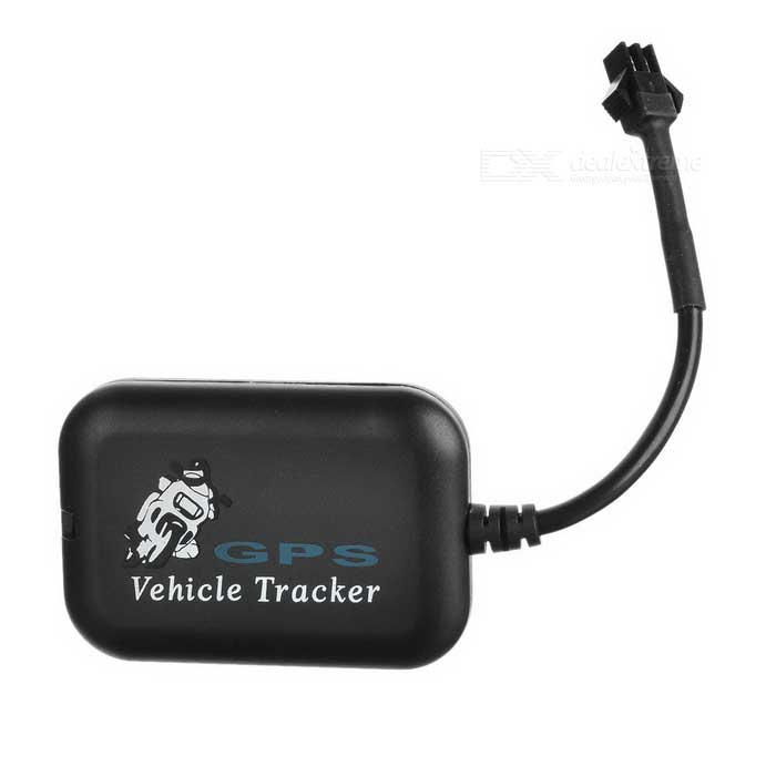 SIRF3 Quad Band GSM / GPRS Tracker - Black