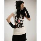 6898 Fashionable Cotton Arm Sleeve - Black (2 PCS)