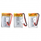 502030 Replacement 240mAh Lithium Polymer Batteries for Walkera R/C Helicopter (3 PCS)
