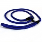 Nylon Dog Pet Training Traction Rope Leash - azul (140 centímetros)