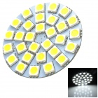 SENCAER G4 3W 155lm 7000K 30-SMD 5050 LED White Light Car Bulb - Yellow + White