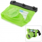 Tteoobl T-518L Convenient Waterproof PVC + ABS + PMMA Bag for DSLR Camera - Green + Black