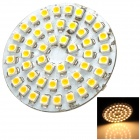 SENCAER G4 3W 110lm 7000K 48-SMD 3528 LED Warm White Light Car Bulb - Yellow + White