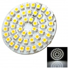 SENCAER G4 2W 105lm 7000K 48-SMD 3528 LED White Light Car Bulb - Yellow + White