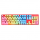 Cherry KC104B Replacement Keyboard 104-Key Caps Set for G80-3000 / 3800 / 3850 - Multicolored