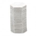 6mm Hexagon NdFeB Magnet - Silver (20 PCS)