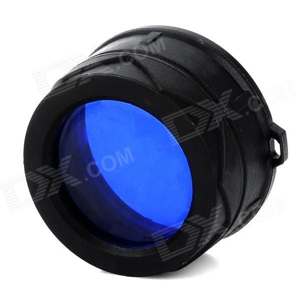 NITECORE NFB34 34mm Blue Optical Filter for Fishing Flashlight - Black + Blue