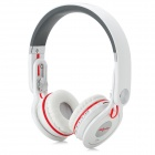 ZEALOT Mix Wireless Bluetooth V3.0 Headband MP3 Headphone w/ Mic / FM Radio / TF / Mini USB - White