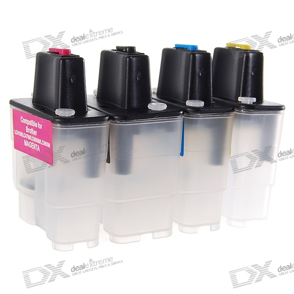 Color Ink Jet Cartridge for Brother Printers (LC Series) color ink jet cartridge for canon printers 821 820 series