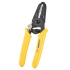 R'DEER RT-2021 Heavy Duty Steel Cable Stripper - Black + Yellow (0.6-2.6mm)