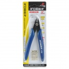 "5"" Professional Electronics Pliers - Deep Blue + Black"