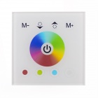 Touch-B 4-key RGB LED Touch Panel Dimmer Controller - White