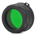 NITECORE NFG34 34mm Optical Filter - Black + Green