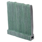 KX-50 T-Shaped Nylon Velcro Band Cable Management Ties Set - Green (50 PCS)