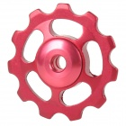 BB-08 Replacement Aluminum Alloy Rear Derailleur Pulley for Bicycle - Red