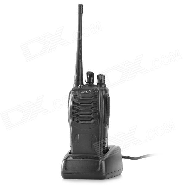 JF JF-333 16-CH Handheld Wireless Walkie Talkie / Interphone - Black