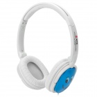 AITA AT-S160 MP3 / MP4 Headband Stereo Headphone - Blue + White + Black