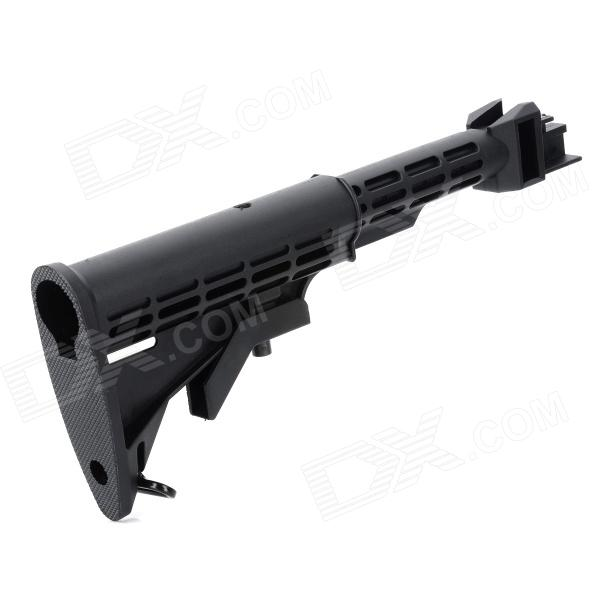 Plastic Steel Butt Stock for AK M4 - Black ty qt durable tank butt stock w  cotton