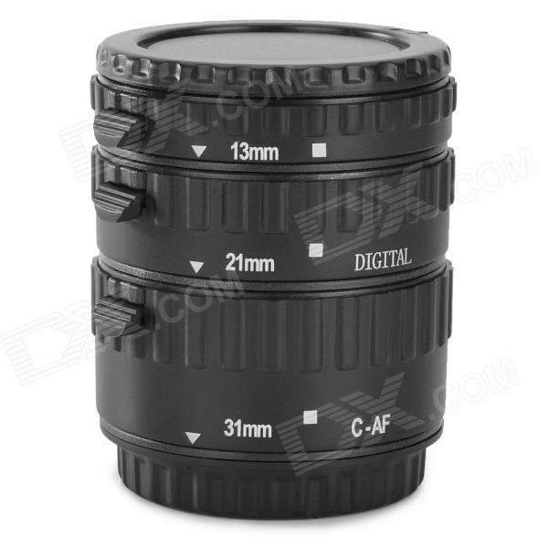 EOSCN C-AF AFAuto Focus Macro Extension Tube Set for Canon - Black адаптер для объектива meike af b canon ef extension tube